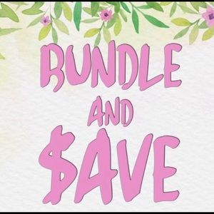 Bundle! Discount! Plus save on Shipping!